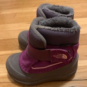 Toddler winter boots NORTH FACE